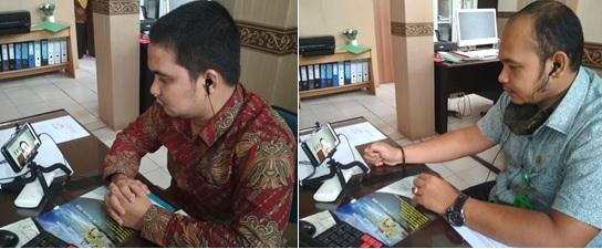 Dua Pegawai PA Dumai Ikuti Seminar Online Coaching Untuk Peradilan | (14/7)
